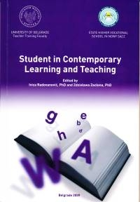 student in contemporary learning and teaching